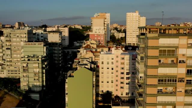 vídeos y material grabado en eventos de stock de windows of buildings in closeup view, home working - portugal