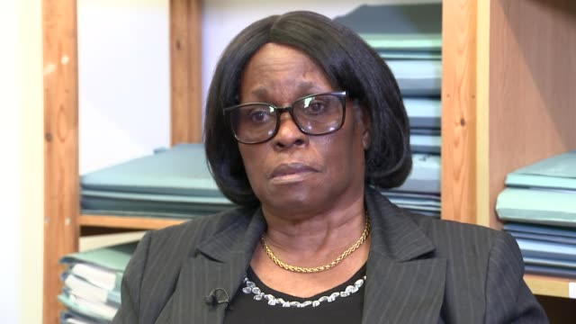 Windrush mother blames immigration problems for her son's death Location unknown INT Sentina Bristol interview SOT Various shots of Sentina Bristol...