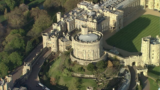 windsor castle 6 - windsor england stock videos and b-roll footage