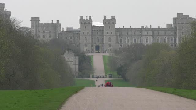 windsor castle, england - windsor england stock videos & royalty-free footage
