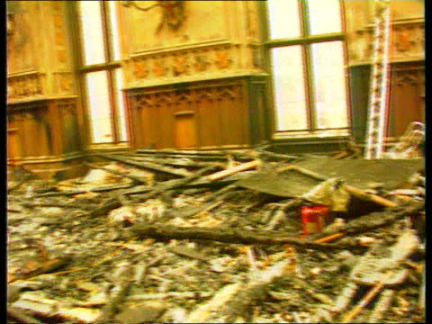 windsor castle fire itn r 201192 