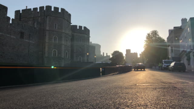 windsor castle on may 20, 2018 in windsor, england. - morning dew stock videos & royalty-free footage