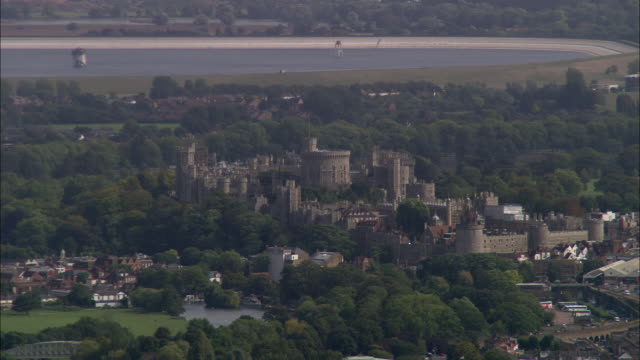 windsor castle - berkshire england stock videos and b-roll footage