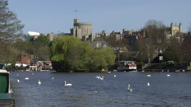 windsor england - windsor castle stock videos and b-roll footage