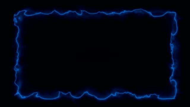 風が強い -火事/エネルギースタイルのフレーム - 特殊効果点の映像素材/bロール