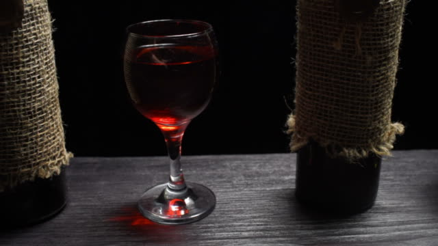 wine and brandy - brandy snifter stock videos & royalty-free footage