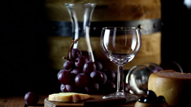 stockvideo's en b-roll-footage met wine and cheese - franse cultuur