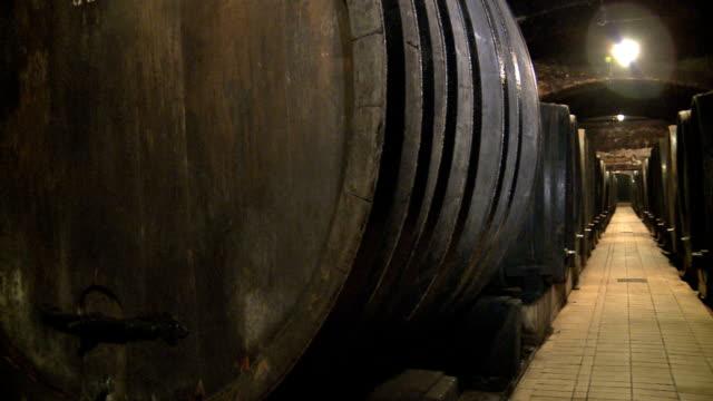 wine barrel - wine cask stock videos and b-roll footage