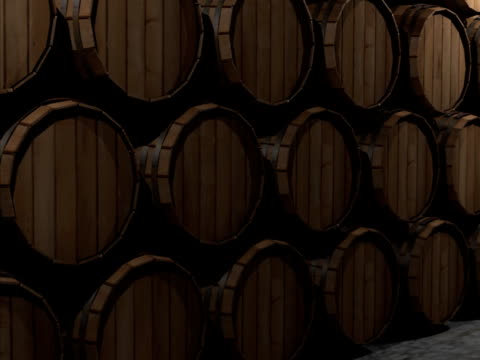 wine casks - keg stock videos and b-roll footage