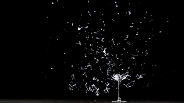 wine glass explodes - drinking glass stock videos & royalty-free footage