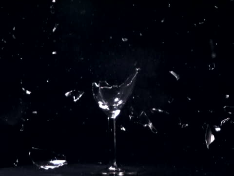wine glass exploding - wine glass stock videos & royalty-free footage