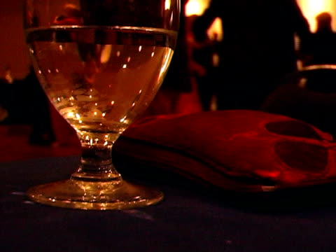 wine glass reception