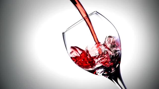 Wine Pour Slow Motion