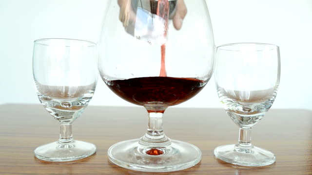wine pouring - rose wine stock videos and b-roll footage