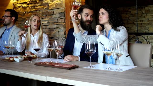 wine tasting - tasting stock videos & royalty-free footage