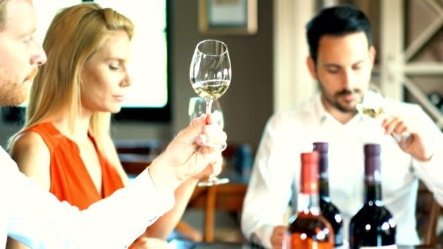 vídeos y material grabado en eventos de stock de degustación de vinos. - botella de vino