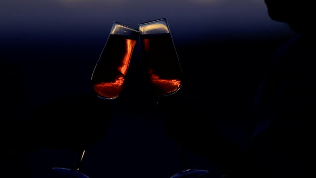 wine - romantic activity stock videos & royalty-free footage