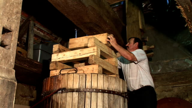 hd: winemaking - wine cask stock videos and b-roll footage