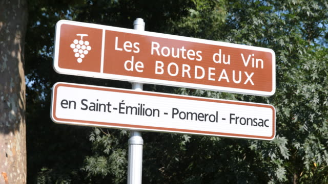Wine-road near Bordeaux