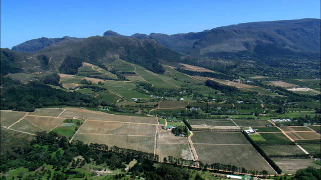Winery Near Nova Constantia  - Aerial View - Western Cape,  City of Cape Town,  South Africa