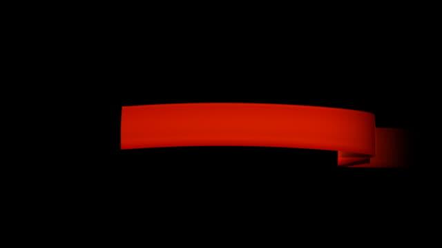 winner 02 ribbon - award ribbon stock videos & royalty-free footage