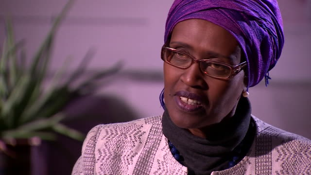 winnie byanyima executive director of oxfam international saying she cannot guarantee that sexual misconduct no longer exists within oxfam but that... - executive director stock videos & royalty-free footage