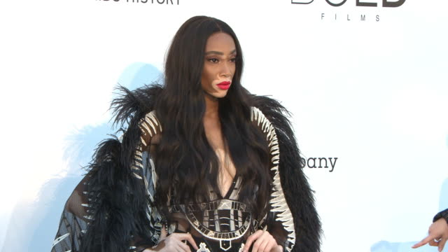 Winnie Harlow at amfAR Gala Cannes 2018 on May 17 2018 in Cap d'Antibes France