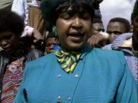 Winnie Mandela speaks out publicly for the first time since being charged with kidnap and assult