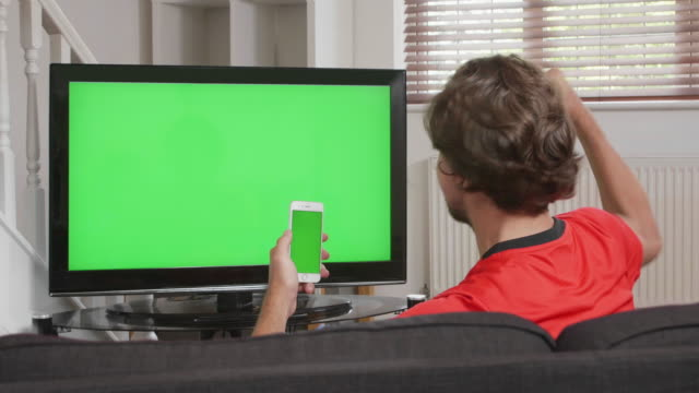 winning, chromakey tv and phone. - channel stock videos & royalty-free footage