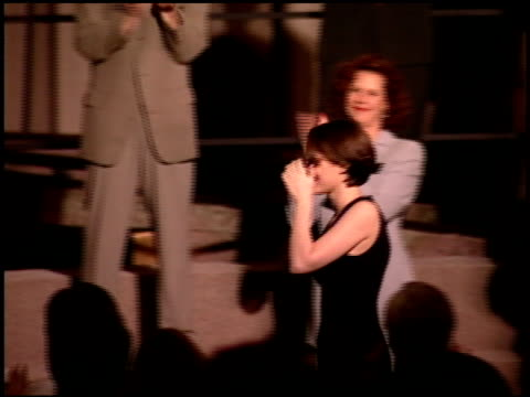 winona ryder at the 1995 academy awards luncheon at the beverly hilton in beverly hills, california on march 14, 1995. - winona ryder stock videos & royalty-free footage