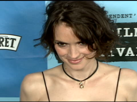 winona ryder at the 'a scanner darkly' premiere at ford theater in hollywood, california on june 29, 2006. - winona ryder stock videos & royalty-free footage