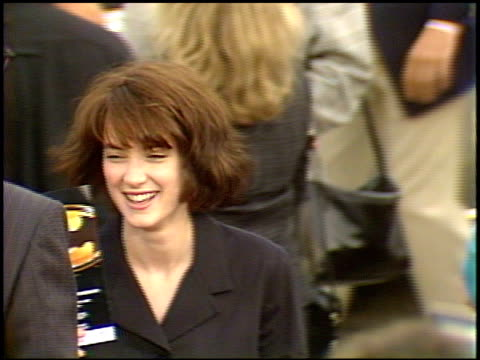 winona ryder at the 'batman' premier on may 19, 1989. - winona ryder stock videos & royalty-free footage
