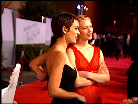 winona ryder at the fire and ice ball at warner brothers studios in burbank california on october 17 1996 - winona ryder stock videos & royalty-free footage