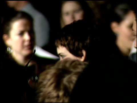 winona ryder at the 'girl, interrupted' premiere at the cinerama dome at arclight cinemas in hollywood, california on december 8, 1999. - winona ryder stock videos & royalty-free footage