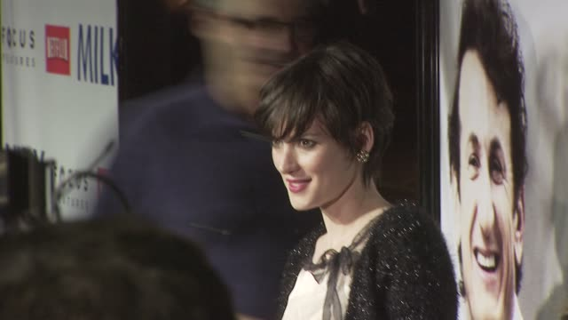 winona ryder at the milk premiere at los angeles ca. - winona ryder stock videos & royalty-free footage