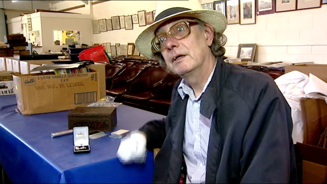 winston churchill dentures to be sold at auction norfolk aylsham int close shot of velvet box held in gloved hands containing set of churchill's... - dentures stock videos and b-roll footage