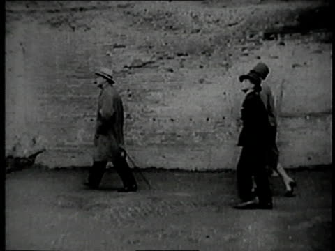 winston churchill visiting rome, italy - 1926 stock videos & royalty-free footage