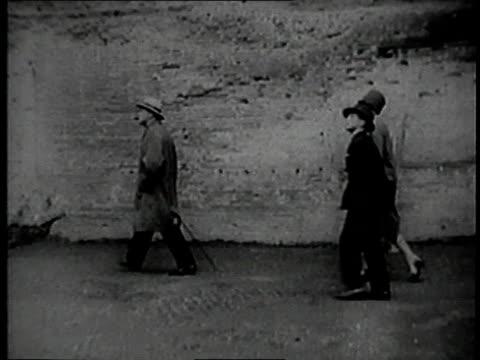 winston churchill visiting rome italy - winston churchill stock videos & royalty-free footage