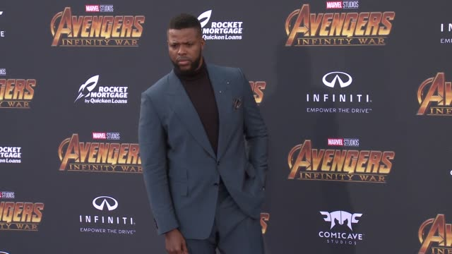 Winston Duke at the Avengers Infinity War World Premiere on April 23 2018 in Hollywood California