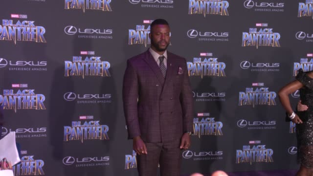 Winston Duke at the Marvel Studios' 'Black Panther' World Premiere at Dolby Theatre on January 29 2018 in Hollywood California