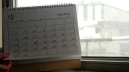 Winter and calendar