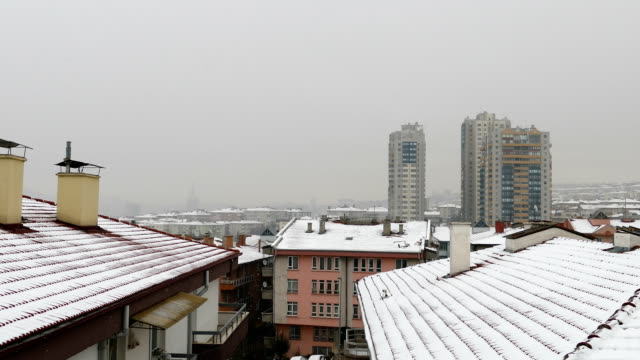 Winter at Ankara - Roof appearance