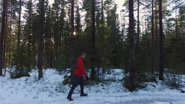 vídeos de stock, filmes e b-roll de winter breaks - câmera seguindo movimento