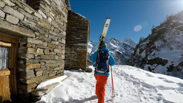 winter breaks - village stock videos & royalty-free footage