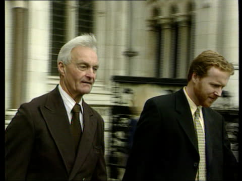 London High Court John Taylor Philip Leach towards past PAN Taylor talking to press John Taylor interviewed SOT I'm challenging the Government to...
