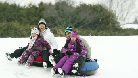 winter fun - winter stock videos & royalty-free footage