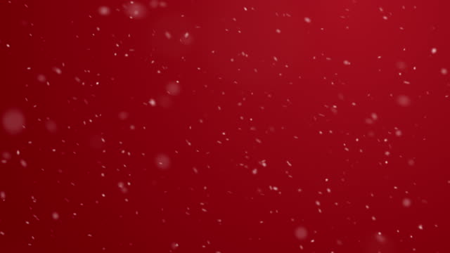 winter holiday background with falling snow - snowing stock videos & royalty-free footage