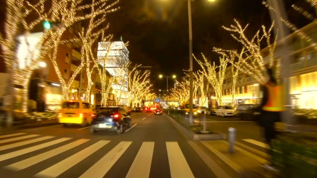 Winter Illumination at Omotesando