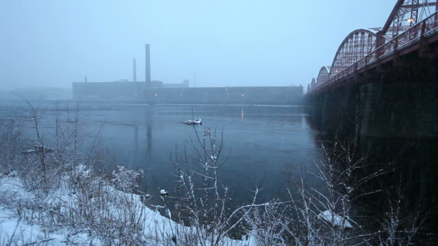 winter in lowell - lowell stock videos & royalty-free footage