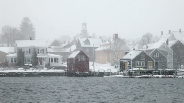 stockvideo's en b-roll-footage met winter in new hampshire - new hampshire
